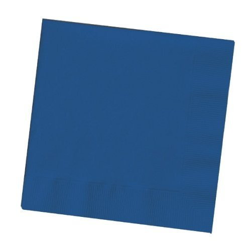 (Creative Expressions Cocktail/Beverage Napkins, Navy Blue (571137B) )