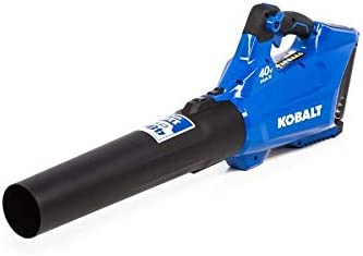 Kobalt 40-Volt Lithium Ion Li-ion 480-CFM 110-MPH Medium-Duty Baretool Cordless Electric Leaf Blower Tool Only – Battery Charger Not Included