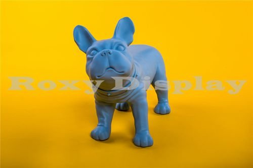 (MZ-KEVIN1BL) ROXY DISPLAY® Realistic Style Small Dog Mannequin.