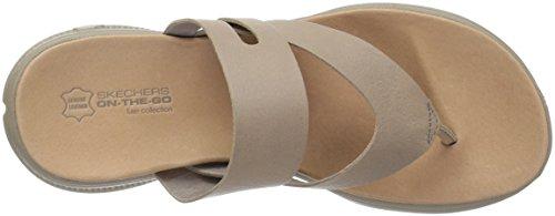 Skechers Kvinders Luxe Samling-15320 Flip-flop Taupe 7N5StE