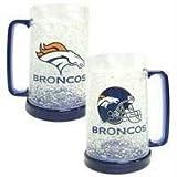 Denver Broncos 16oz Crystal Freezer Mug