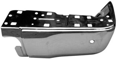 New Left Driver Side Rear Bumper End For 2014-2018 Toyota Tundra Chrome Without Park Assist Sensor Holes 521520C030 TO1104123