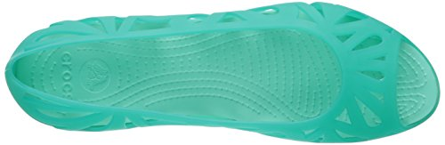Toe Teal Iii Crocs island Tropical Adrina Piatto Peep Green ZYxvTtxp