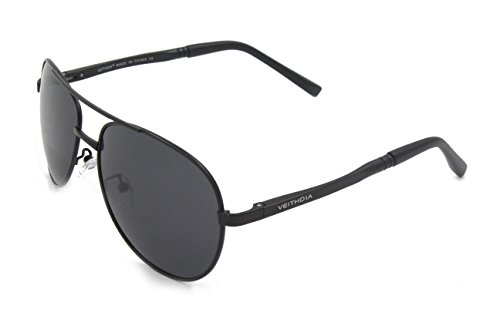 VEITHDIA 1309 New Fashion UV400 Adjustable Polarized Aviator - On Brand Sunglasses Sale