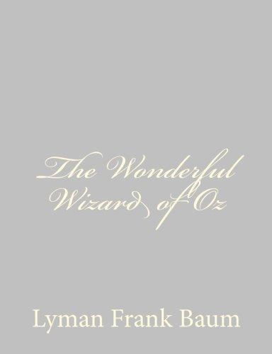 Download The Wonderful Wizard of Oz pdf