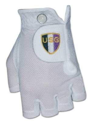 Womens Shorty Half Finger Glove Left Handed ML L