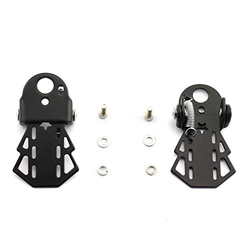 Bicycle Pegs - partstock 1 Pair Bike Metal Rear Pedals MTB Folding Footrests Cycling Accessories Bicycle Foot Pegs