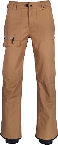 686 Men's Vice Waterproof Shell Ski/Snowboard Pant   Khaki - M (Snowboard Black Pants)