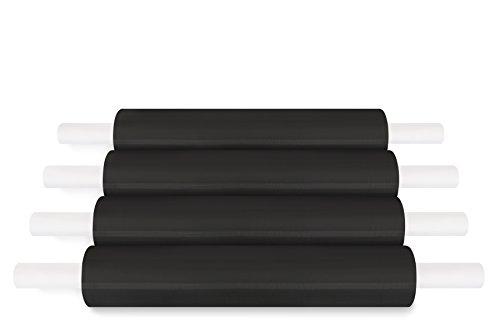 Extended Core Black Color Pallet Stretch Wrap 20