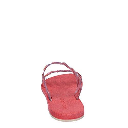 Rosso Plastica Donna Sandali Daniele Eddy wCInq1v