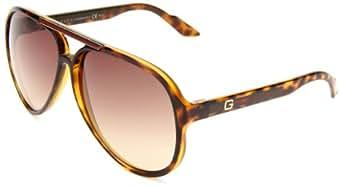 Gucci Men's 1627/S Aviator Sunglasses,Havana Frame/Brown Grey Grad Lens,One Size