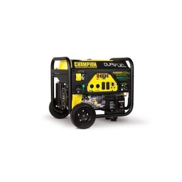 Champion Power Equipment 100297 8000 Watt Dual Fuel Portable Generator with Electric Start