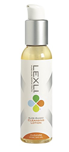 Lexli Cleansing Lotion Daily Facial Cleanser | pH-balanced, Gentle Face Cleanser That Removes Oil, Makeup And Dirt | Formulated With Pharmaceutical-grade Aloe | 4 Oz ()