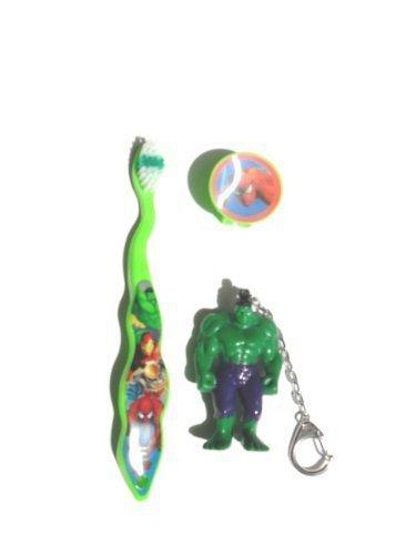 De viaje de - increíble foco de Hulk de cepillos de dientes del de la cadena
