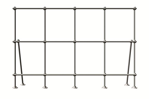 Lee Engineering 6 foot Table Top Mount Aluminum Lab-Frame Kit for Fume Hoods by Lee Engineering
