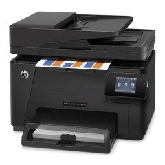 """* HP Color LaserJet Pro M177fw MFP (17 ppm) (128 MB) (8.5"""" x 14"""") (2400 x 1200 dpi) (Duty Cycle 20,000 Pages) (p/s/c/f) (USB) (Ethernet) (Wireless) (Touchscreen) (150 Sheet Input Tray) (35 Sheet ADF) *"""