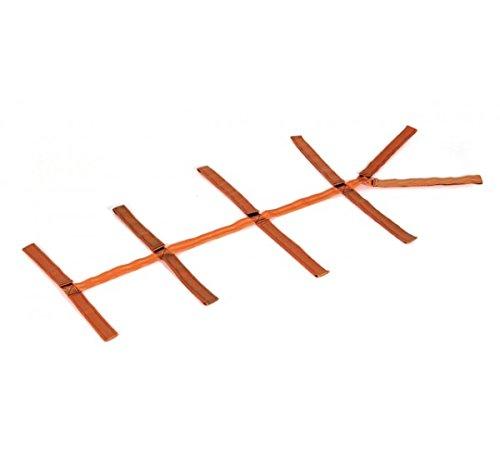 CINTURA A RAGNO CON CUSTODIA per barelle, tavola spinale - cinghie per barella imbracatura per immobilizzazione Sicurmed