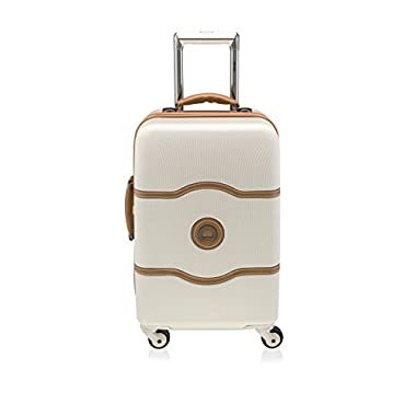 Delsey Luggage Chatelet 19 Inch International Carry On Luggage, Champagne