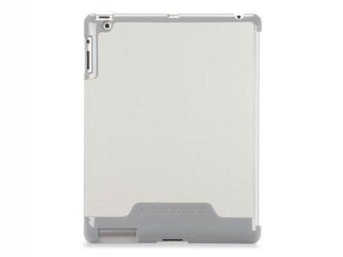 Scosche Clear Case (Scosche snapSHIELD p2 - (White) Low Profile Case for  iPad 4 and iPad2 (IPD2PC2W))