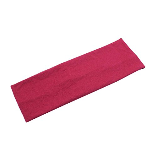 Price comparison product image HBOS Yoga Turban Elastic Headband Bodybuilding Elastic Face Hair Band.