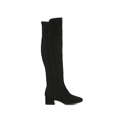 Gentle Souls by Kenneth Cole Emery Suede Over-The-Knee Boot Black