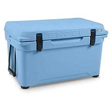 Engel 35 High Performance Durable Roto Molded Airtight Ice Cooler, Arctic Blue
