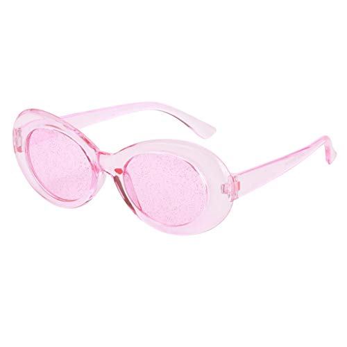 Partie 1 Lunettes Plage Soleil Ovales Prettyia Cosplay P rose de g0wzxBqWWp