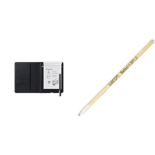 保障できる ワコム Wacom Bamboo B076WTZYCV Folio + S A5対応 スマートパッド 電子ノート CDS610G Wacom + Ballpoint Pen用替え芯(3本入り) ACK22207 セット B076WTZYCV, ヨイチチョウ:ef7549a5 --- diceanalytics.pk