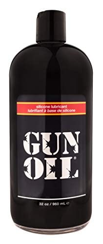 GUN OIL Silicone Lubricant - Hypoallergenic Silicone-Based Lubricant Enriched With Aloe Vera & Vitamin E For Maximum Comfort And Long-Lasting Lubrication ( 32 Fluid Ounce - 1000 Milliliter )
