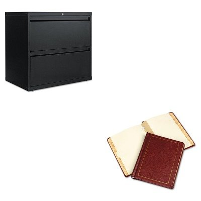 KITALELF3029BLWLJ39611 - Value Kit - Wilson Jones Three-Post Binder for Corporation Minute Sheets (WLJ39611) and Best Two-Drawer Lateral File Cabinet (ALELF3029BL) by Wilson Jones