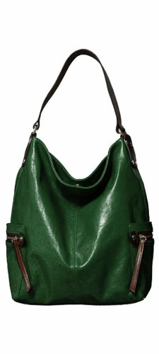 Tano Leather Bag Check Hobo with Zippered Pockets – Jungle, Bags Central