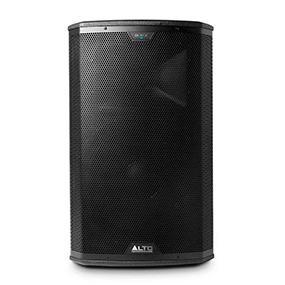 alto professional black 15 premium 15 active 2 way pa loudspeaker with integrated. Black Bedroom Furniture Sets. Home Design Ideas
