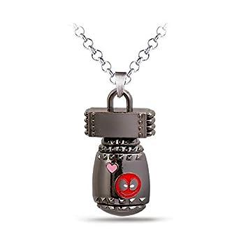 Mct12 - New Fashion Deadpool Choker Necklace Metal Deadpool ...