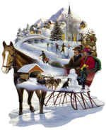 Winter Wonderland 600 Piece Shaped Puzzle