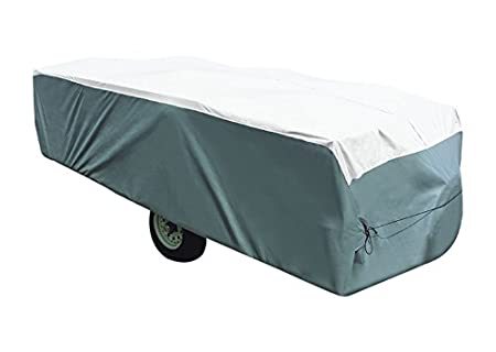 ADCO 22895 Pop Up Trailer Tyvek & Polypropylene Cover - 16'1' to 18' , Gray 38529131