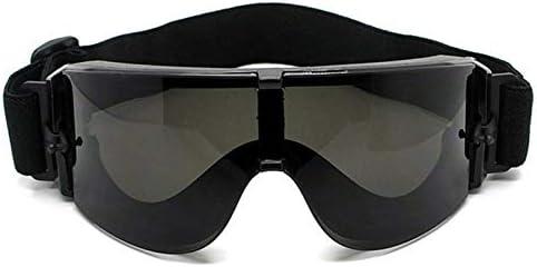 ArgoBa Gafas Protectoras Gafas tácticas Airsoft X800 Gafas de Sol Gafas Gafas Gafas de Moto Gafas Ciclismo Montar Protección para los Ojos