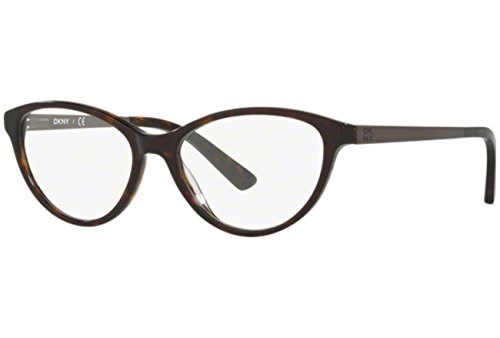 DKNY DY4671 Eyeglass Frames 3695-52 - Dark Tortoise/satin Gunmetal