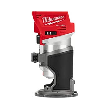 Milwaukee 5616-20 120V AC 2-1//4 Max HP EVS BodyGrip Router w// Collet Wrenches