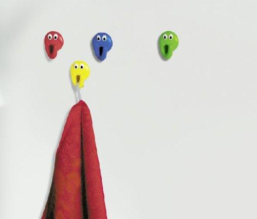 Spirella - Bathdeco smile el, color azul