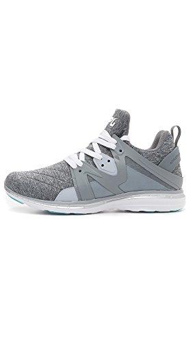 Apl: Laboratori Di Propulsione Atletica Mens Ascend Sneakers Cosmic Gray / Metallic Silver