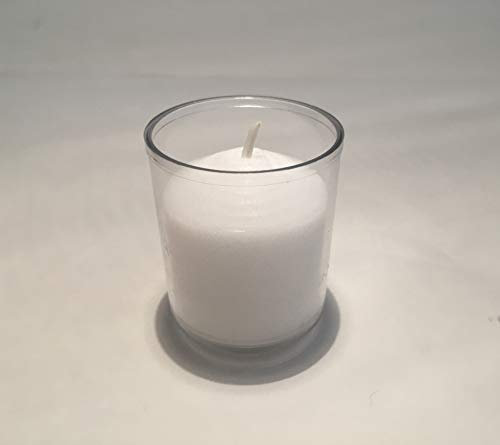(No Mess 10 Hour Tealight Candle in Disposable Plastic Insert 100 Pack Box)