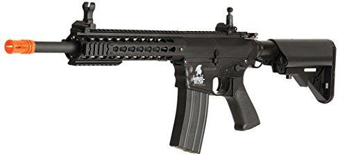 (Lancer Tactical Airsoft LT-12BK AEG KeyMod 10-inch Polymer Edition - Black)