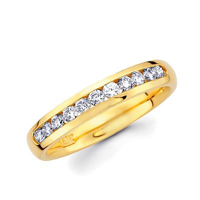 0.41 Ct Diamond Band - 8