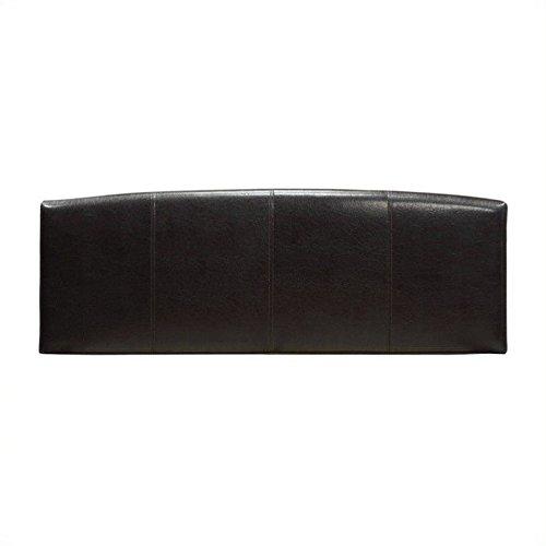 Arch Full Headboard (Modus Furniture 7G08F4BHA Ledge Upholstered Arch Headboard, Full, Chocolate)