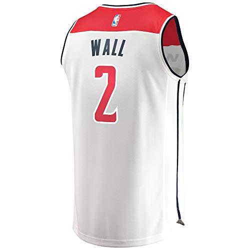 VVACNBA NBA Washington Wizards John-Wall 2 Fan Men Jersey (Blanco, XXL): Amazon.es: Deportes y aire libre