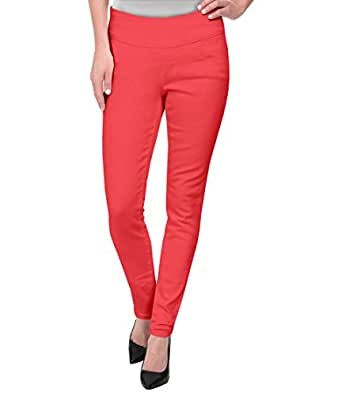 Super Comfy Stretch Pull On Millenium Pants KP44972 CORAL Small