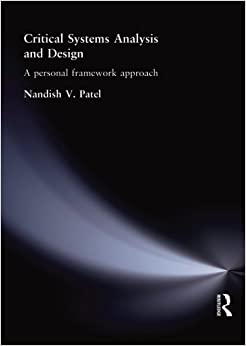 Book Critical Systems Analysis and Design: A Personal Framework Approach