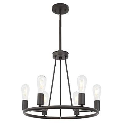 Sputnik Chandelier Brushed Nickel Modern Pendant Lighting Vintage Ceiling Light Fixture by BONLICHT