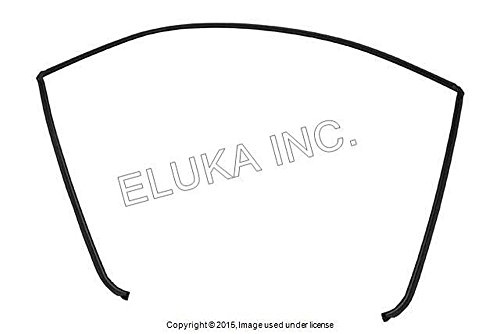 BMW Genuine Glazing Windshield Moulding Rear Upper  323i 325i 325xi 328i 328xi 330i 330xi 335i 335xi M3 323i 328i 328xi 335d 335i 335xi M3