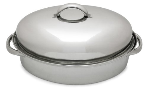 Lindy's 3-Qt Stainless Steel Chicken Roaster